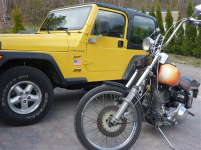 My Jeep and Harley!