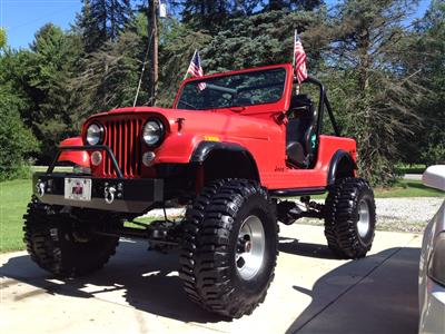 My Updated Topless CJ7