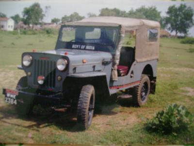 My 1980 Mahindra CJ4A