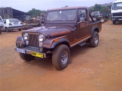 My recently acquired Jeep CJ8 Scrambler