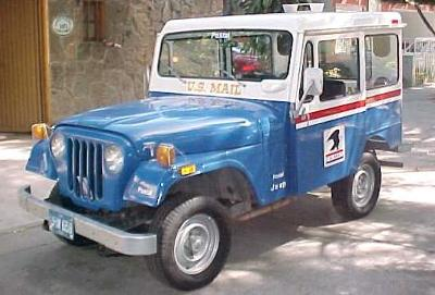 Jeep DJ5 Postal (File Photo)