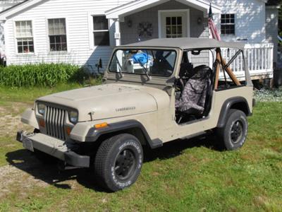 My 1987 Jeep Wrangler Laredo
