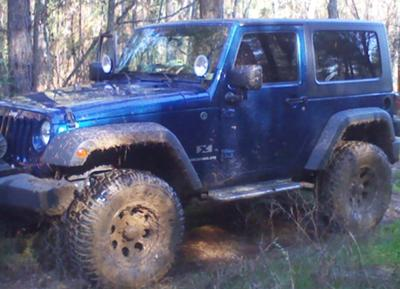 Our 2009 Jeep Wrangler JK aka 'ol Blue!