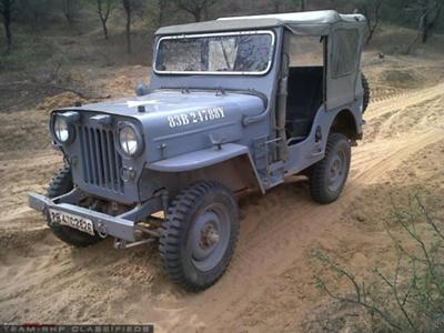 1983 Mahindra Army CJ3B<br>Courtesy of Team-BHP Classifieds<br>(File Photo)