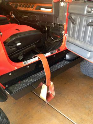 Retractable Roper Stirrups For Lifted 4x4 S