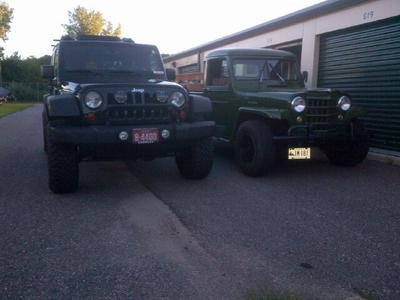 My 2012 JK Unlimited and 1951 Willys Pickup