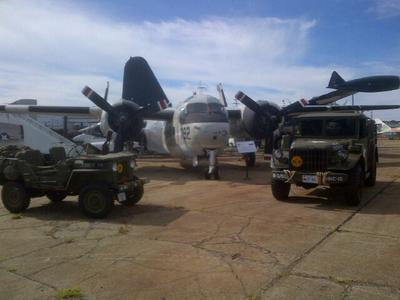 The 1947 Willys and 1953 Dodge M37