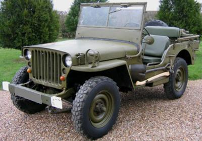 Restored Willys MB