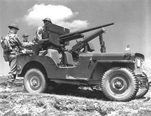 Heavily Armed 1942 WWII Combat Jeep!
