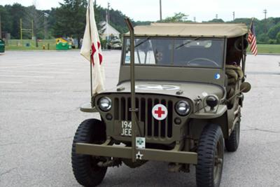 Ethel's Restored '45 Willys MB Army Jeep