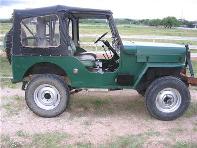 1954 Willys CJ3B