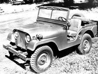 1955 M38A1 Jeep!