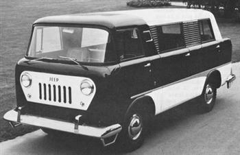 1958 Jeep Forward Control Van