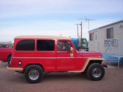 Paul's 1958 Willis Wagon Full Restoration