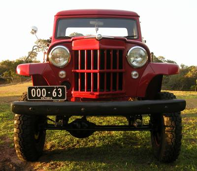 Jeep Off Road Trucks Marks '63 Willys Pickup!