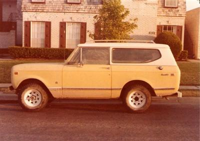 1974 Scout!