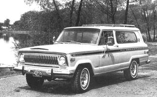 1975 AMC Jeep Cherokee (File Photo)