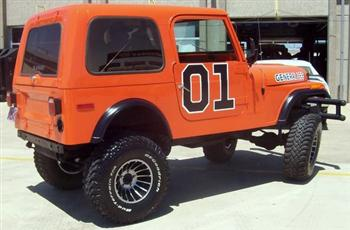 1977 Custom Jeep CJ7 at TMS Auto Show 2008!
