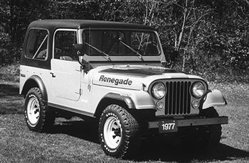 Jeep Renegade 1977 CJ7