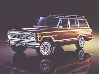 1978 Jeep Wagoneer Limited!