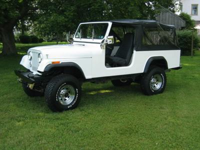 Clair's 1981 Jeep Scrambler!