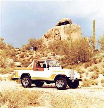 1982 Jeep Scrambler CJ8!
