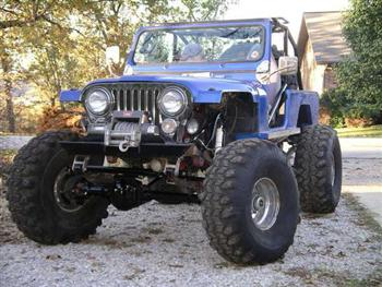 1983 Jeep Scrambler Customized