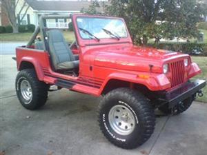 1989 Jeep Wrangler Islander!