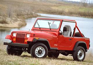 Notice the Single Roll-bar with Driver and Passenger extensions on this 1991 YJ Wrangler!
