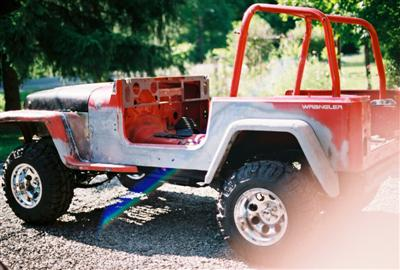 Jeep Project 91 YJ/Willys Blend Left Side View 5