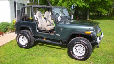 My 1994 Jeep Wrangler