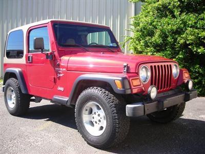 1999 Wrangler TJ Red
