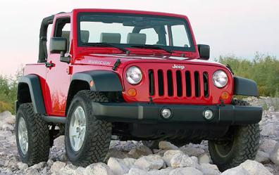 Jeep Wrangler Rubicon Standard!