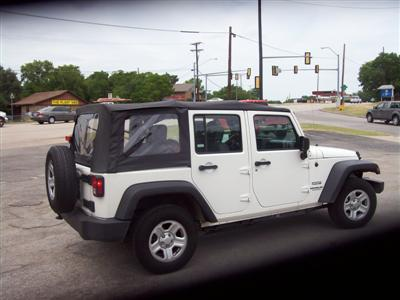 Rented 2010 Wrangler Unlimited 4x2