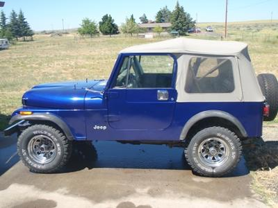81 Jeep CJ7 in a '96 Wrangler