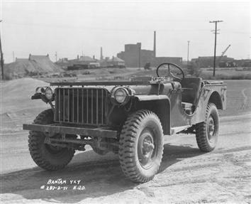 WWII Bantam Jeep BRC 40!