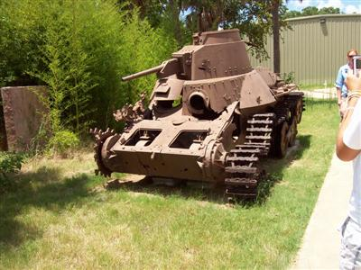 Pacific War Museum Japanese Tand Remains!