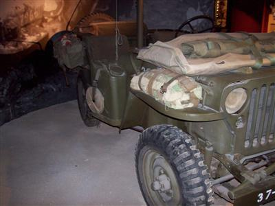 Pacific War Museum Jeep!