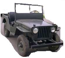 Jeep CJ 2A restored