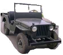 Jeep CJ 2A restored