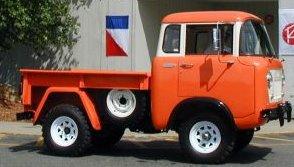 Jeep Forward Control FC-150!