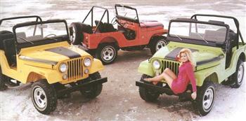 Jeep Girl 1971!