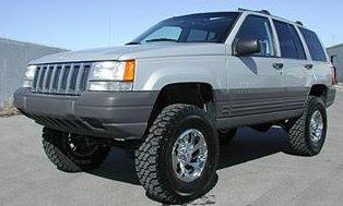 Jeep Grand Cherokee Lifted!