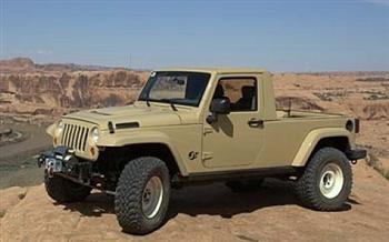 Jeep JT Concept Pickup 2007!