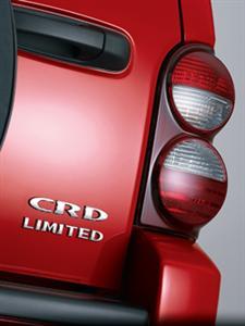 Jeep Liberty Diesel CRD Rear Logo!