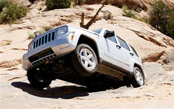 Jeep Liberty Off Road!