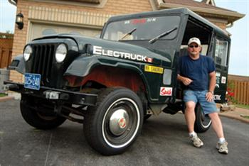 Postal Jeep DJ5E ELECTRUCK