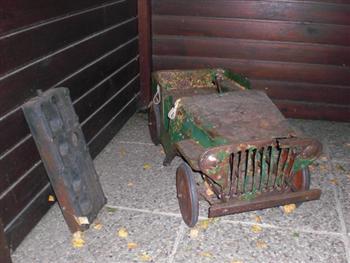 Jeep Stuff Karl's Jeep Pedal Car