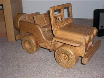 Jeep Stuff Karl's Wooden Jeep Toy