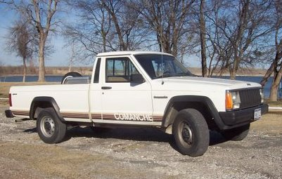 My 1987 Jeep Comanche!